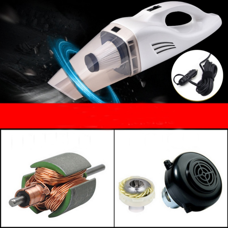 12V Car Vacuum Cleaner for Auto Portable Wet Dry Dirt Dust H